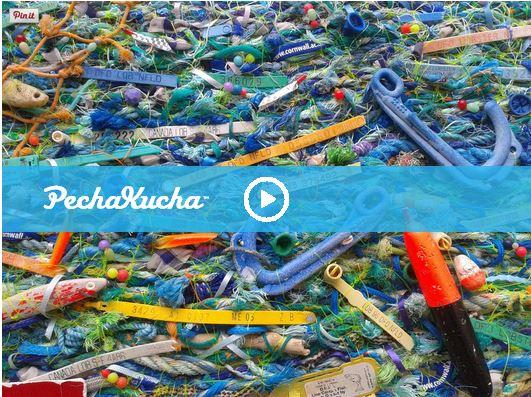 Flotsam Weaving - Bedford Pecha Kucha Night
