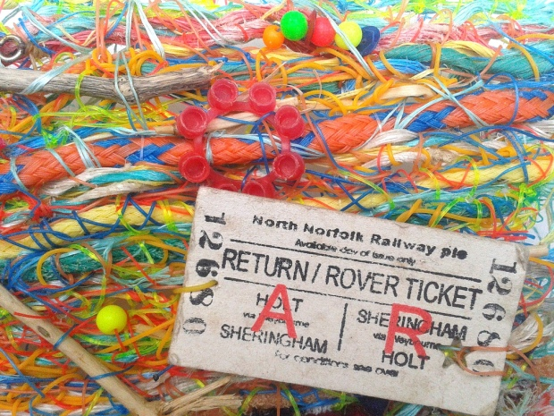 Flotsam Weaving - Return/Rover Ticket