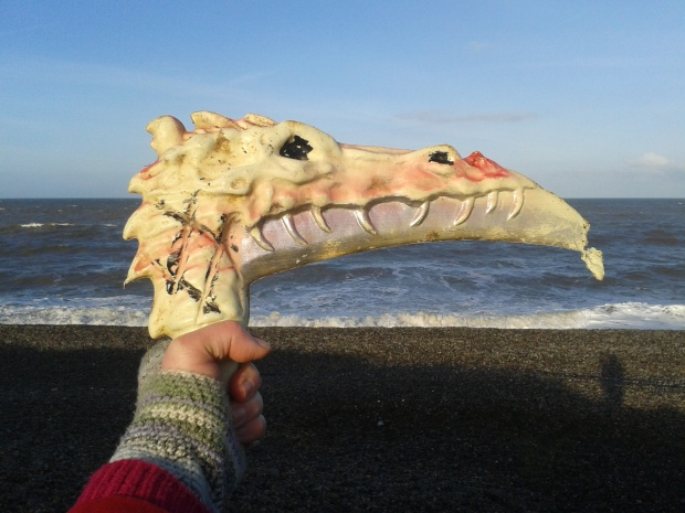 Possibly the strangest beachcombing find of 2014