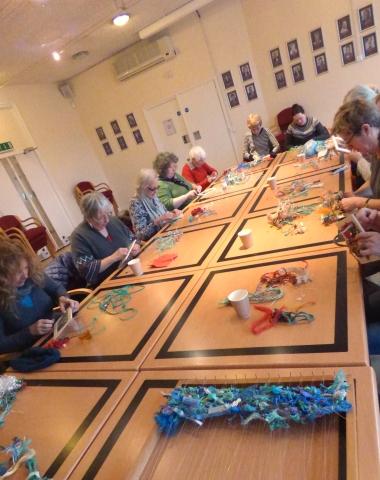 Weaving Workshop at Watersmeet, Rickmansworth